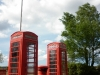 Poole Park telephone boxes, Poole