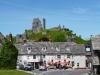 Pub and Corfe Castle
