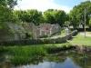 Tyneham village wall