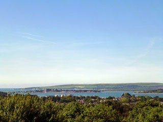 View across Poole Harbour