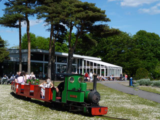 Poole park train