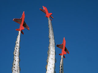 red arrows memorial,  bournemouth