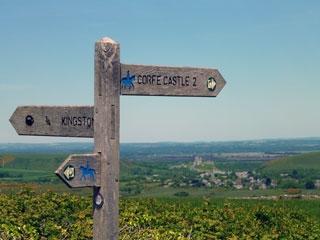 Purbecks signpost