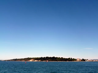 purbecks coastal view  -brownsea