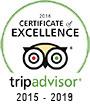 Trip advisor 2015 - 2019
